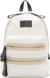 Marc By Marc Jacobs White Domo Arigato Packrat Backpack