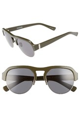 Hadid Women's Nomad 52Mm Sunglasses Olive Silver Olive Silver