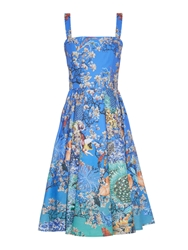Mary Katrantzou Favry Ramora Ocean Print Dress