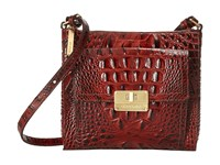 Brahmin Mimosa Pecan Cross Body Handbags Brown