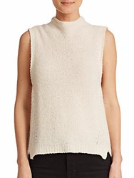 Milly Cashmere Shell White