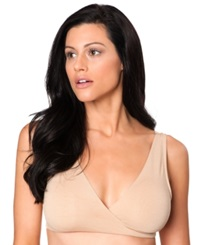 A Pea In The Pod Maternity Nursing Wrap Sleep Bra Nude