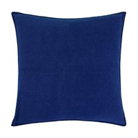 Zoeppritz Since 1828 Soft Fleece Cushion 50X50cm Royal Blue