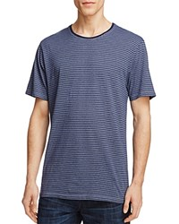 Velvet Mojo Stripe Tee Flag Blue