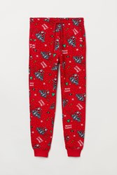 Handm H M Joggers Red