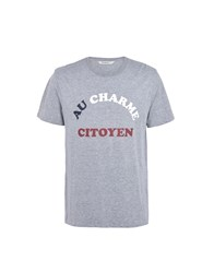 Eleven Paris T Shirts Grey