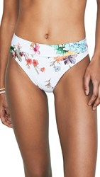 Pilyq High Waisted Bikini Bottoms Wild Flower