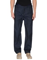 Opening Ceremony Trousers Casual Trousers Men Dark Blue
