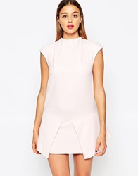 Finders Keepers Take A Bow Dress Powderpink
