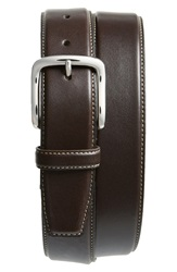 Cole Haan Leather Belt Chocolate