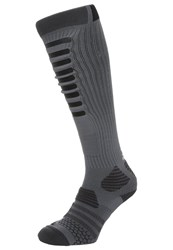 Adidas Performance Knee High Socks Grey Black