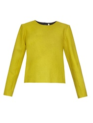Thomas Tait Long Sleeved Crepe Top