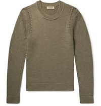 Burberry Cashmere Sweater Sage Green