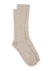 Topman Stone And White Twist Socks