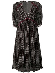Lala Berlin Leona Diamond Pattern Dress Black