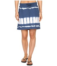 Mountain Khakis Solitude Skirt Midnight Blue Tie Dye Women's Skirt