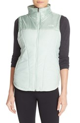 The North Face Women's 'Pseudio' Quilted Vest Subtle Green Heather