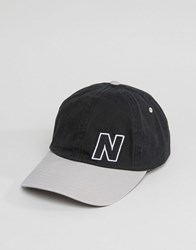 New Balance Essential Cap In Black Black