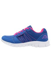 Kappa Stay Cushioned Running Shoes Blue Pink