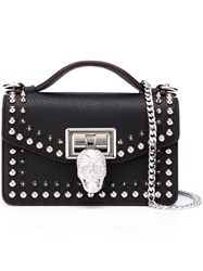 Philipp Plein Mini 'Swish' Crossbody Bag Black
