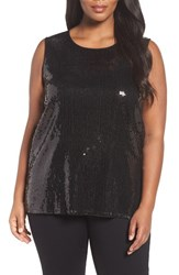 Vince Camuto Plus Size Women's Sequin Tank