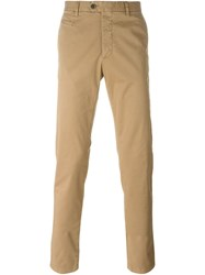 Fay Classic Chinos Nude And Neutrals