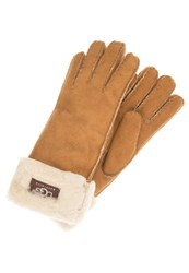 Ugg Gloves Chestnut Cognac