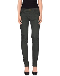 E Go' Sonia De Nisco Casual Pants Dark Green