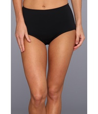 Tyr Solid High Waist Bikini Bottom Black Women's Swimwear