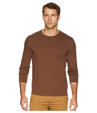 Mod O Doc Carlsbad Long Sleeve Jersey Crew Tee Carafe T Shirt Brown