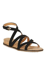 Tommy Hilfiger Caged Sandals Black
