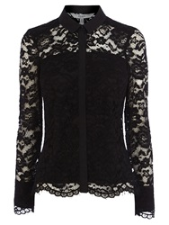 Coast Adelia Lace Blouse Black