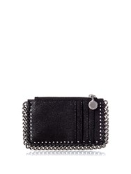Stella Mccartney Falabella Coin Purse And Cardholder Black