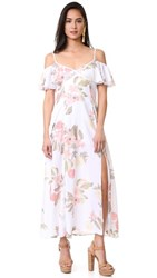 Somedays Lovin Off Shoulder Ruffle Dress Karolina Floral
