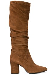 Coach Graham Slouchy Boots Brown