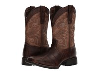 Durango Mustang 12 Western Gator Emboss Chocolate Brown Cowboy Boots Gator Emboss Chocolate Brown