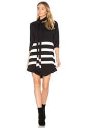 For Love And Lemons Clemence Tunic Dress Black And White