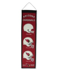 Winning Streak Arizona Cardinals Heritage Banner Team Color