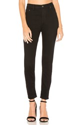 Free People High Rise Long And Lean Jean Black