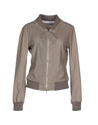 Vintage De Luxe Coats And Jackets Jackets Women Grey