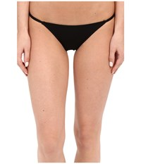 Only Hearts Club So Fine String Bikini Black Women's Underwear