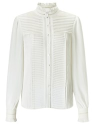 Alice By Temperley Somerset Pintuck Blouse Cream