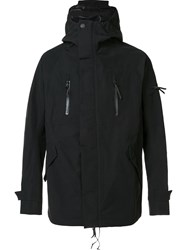 11 By Boris Bidjan Saberi Zip Up Wind Breaker Black