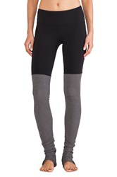 Alo Yoga Goddess Ribbed Legging Black