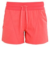 The North Face Aphrodite Sports Shorts Cayenne Red Heather Mottled Light Red