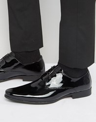 Kg By Kurt Geiger Oxford Shoes In Patent Leather Black
