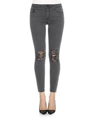 Joe's Jeans Distressed Ankle Length Pants Darcia