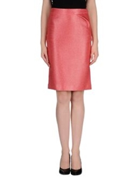 Fendi Knee Length Skirts Pink
