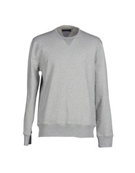 French Connection Topwear Sweatshirts Men Light Grey