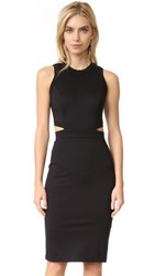 Amanda Uprichard Shaina Dress Black